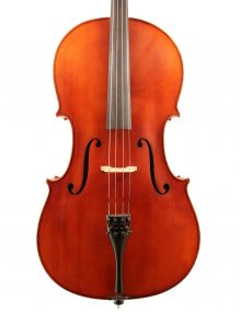German Markneukirchen cello c1920 for sale at Bridgewood and Neitzert London