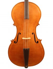 Baroque cello by Robert Bailey for sale at Bridgewood and Neitzert London