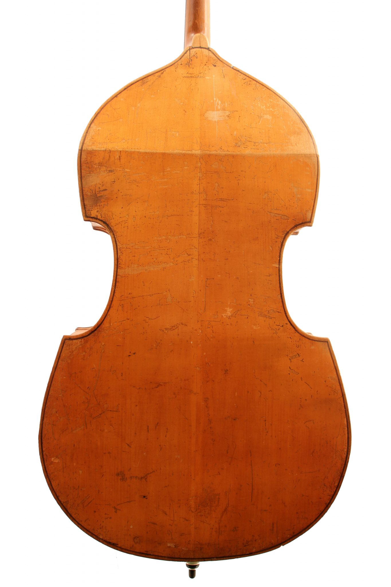 German double bass c1900 for sale at Bridgewood and Neitzert London