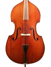 German double bass for sale at Bridgewood and Neitzert London