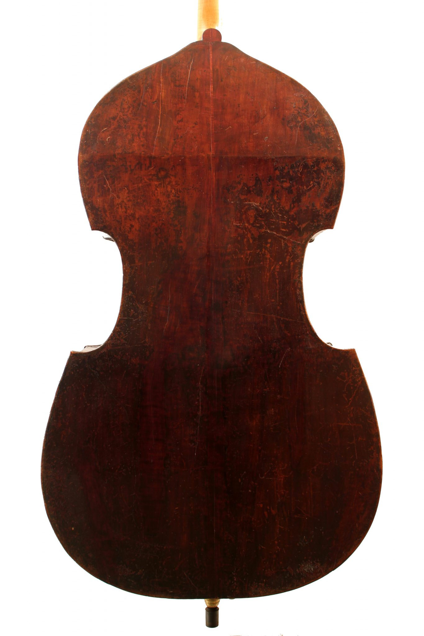 German double bass c1890 for sale at Bridgewood and Neitzert London