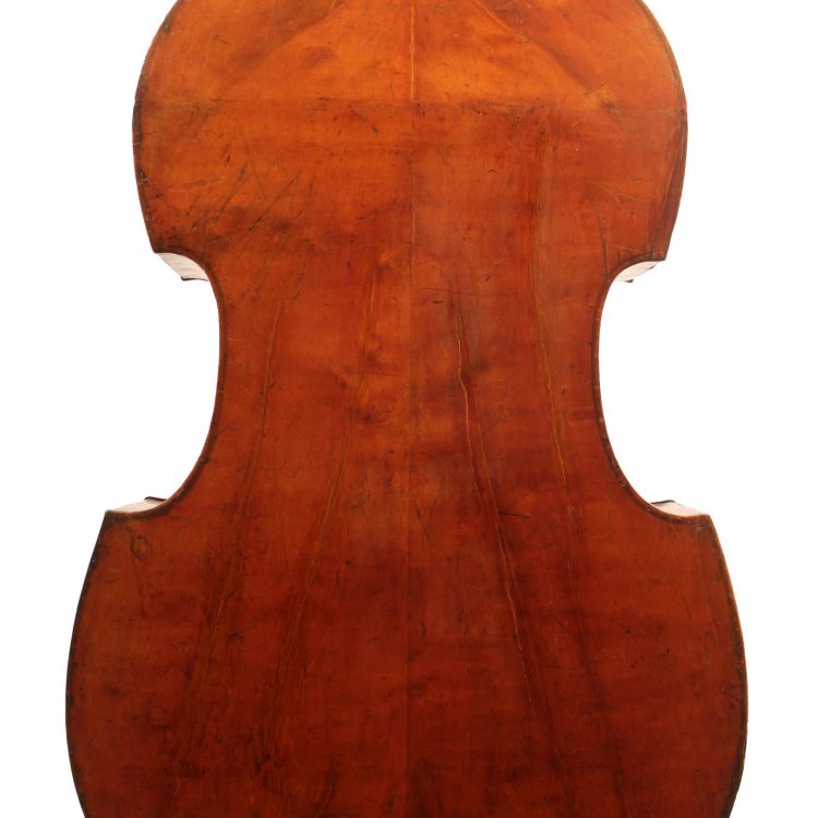 baroque double bass for sale at Bridgewood and Neitzert London