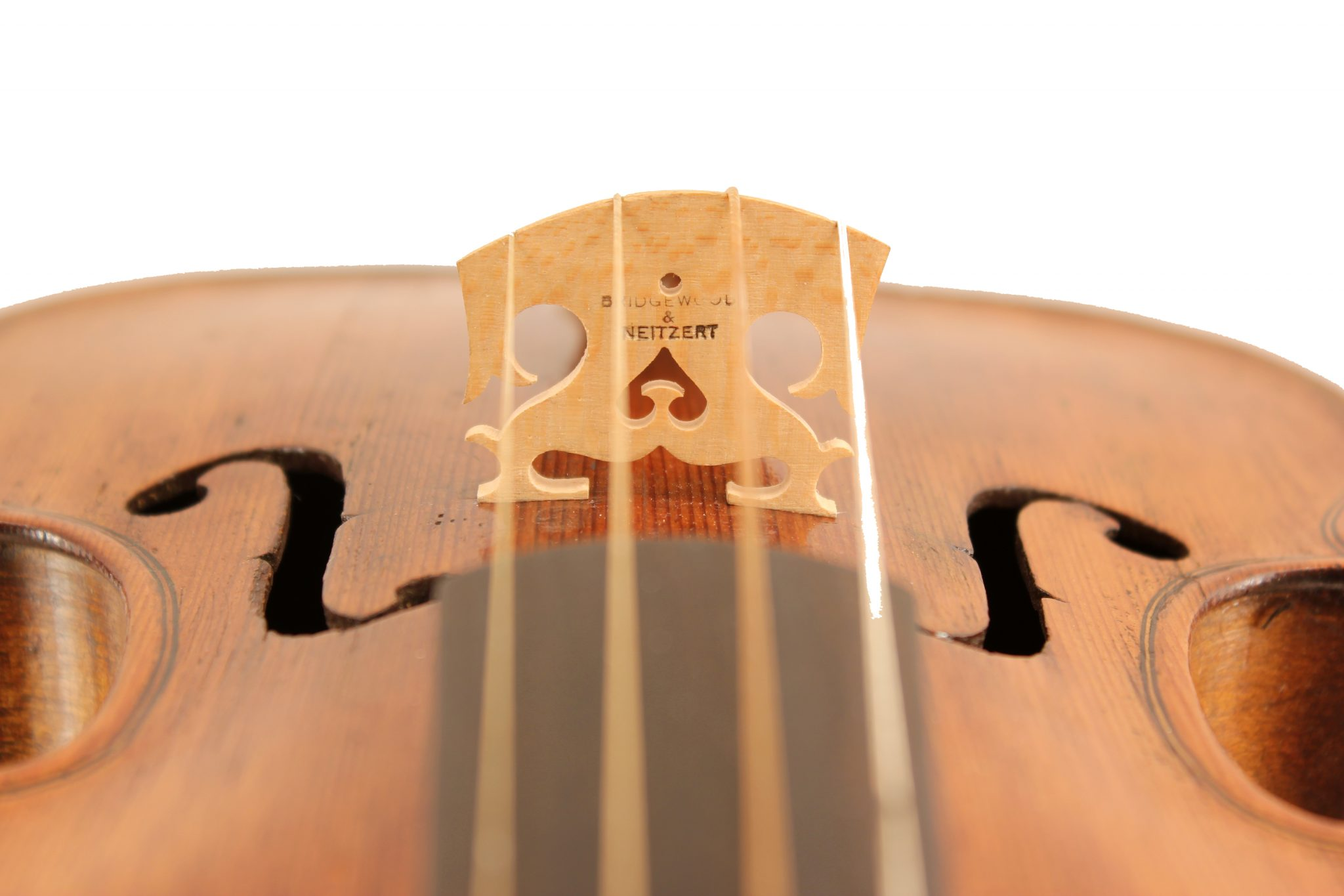 baroque violin by Prosper Cabasse c1780 for sale at Bridgewood and Neitzert London