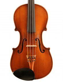 German violin, probably Markneukirchen c.1900 for sale at Bridgewood and Neitzert London
