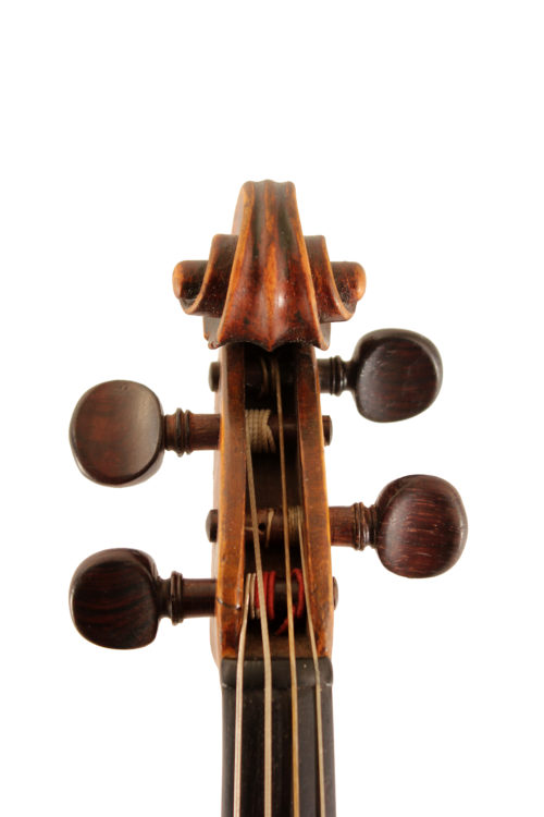 Baroque violin by Mathias Hummel Nurnberg c1690 for sale at Bridgewood and Neitzert London