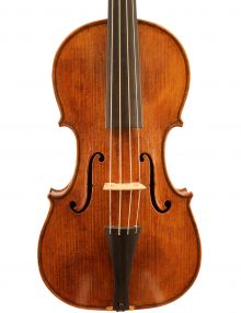Baroque violin by Giovanna Chitto Paris 2016 for sale at Bridgewood and Neitzert London