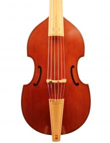 Bass viol by Johann Hedvall for sale at Bridgewood and Neitzert London