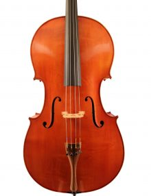 cello by C Soada Cremona 1977 for sale at Bridgewood and Neitzert London
