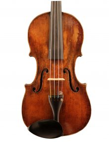 German Mittenwald violin c1870 for sale at Bridgewood and Neitzert London