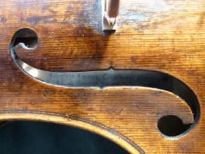 Nicolo Amati baroque violin conversion