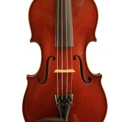 violin-by-E-Reinhold-Schmidt-Markneukirchen-c1936-front for sale at Bridgewood and Neitzert London
