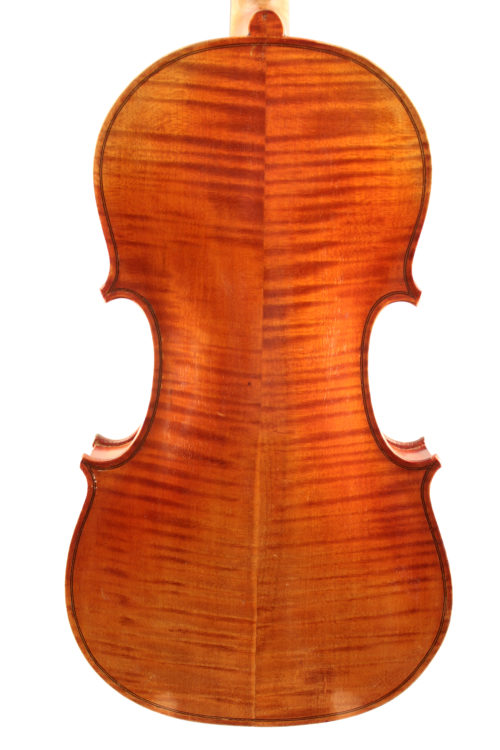 French Mirecourt violin c1920 for sale at Bridgewood and Neitzert London