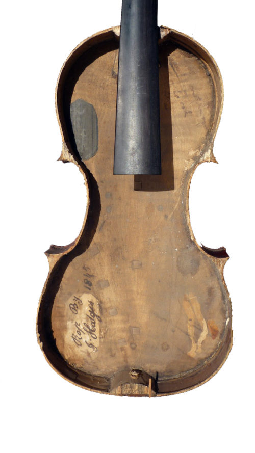 Violin by Charles Harris 1830 for sale at Bridgewood and Neitzert London