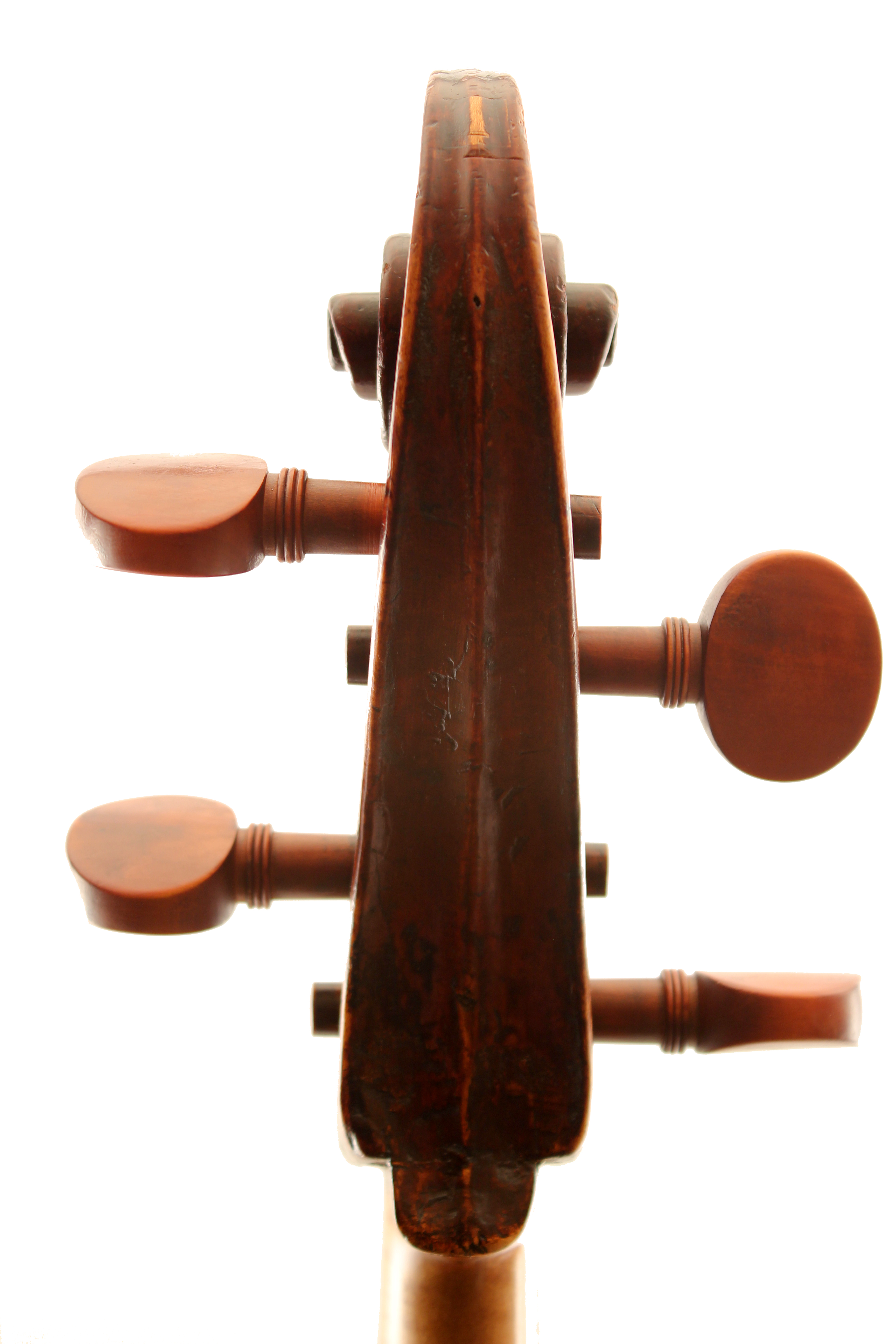 Bohemian baroque cello for sale at Bridgewood and Neitzert London
