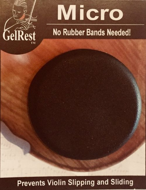 Micro Gel rest shoulder rest available from Bridgewood and Neitzert London