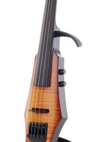 NS Wav 4 Amber burst electric violin available from Bridgewood and Neitzert London