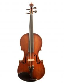 Bohemian violin c.1830 for sale at Bridgewood and Neitzert London