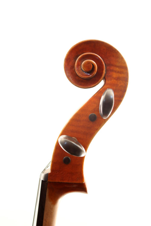 Strad style cello for sale at Bridgewood and Neitzert London
