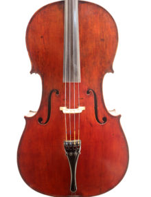 GERMAN MITTENWALD CELLO C.18 for sale at Bridgewood and Neitzert London