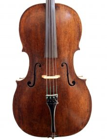 7/8 BOHEMIAN CELLO EARLY 19T for sale at Bridgewood and Neitzert London