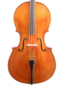 Italian cello by Michele Fornai, Florence 2017. Liuteria Toscano 2017 for sale at Bridgewood and Neitzert London