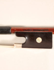 Violin Bow By Albert Nürnberger II c.1880 for sale at Bridgewood and Neitzert London