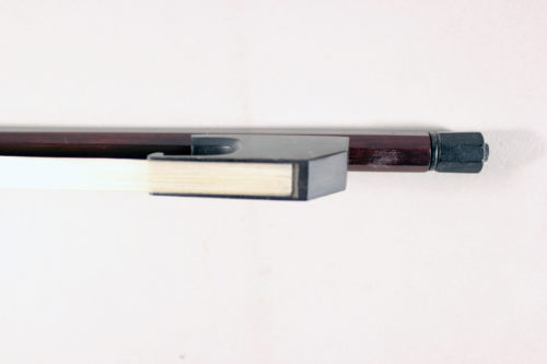 Baroque violin or viola bow by Francine Humbert-Droz Switzerland 2018 for sale at Bridgewood and Neitzert London