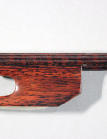Baroque Violin Bow, Snakewood for sale at Bridgewood and Neitzert London