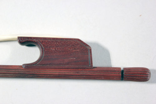 Julian Clark late baroque violin bow for sale at Bridgewood and Neitzert London
