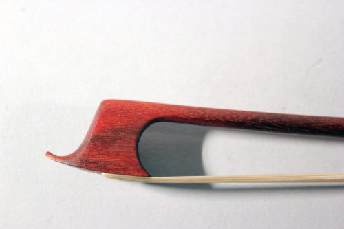 Transitional violin bow by Francine Humbert-Droz Switzerland 2018 for sale at Bridgewood and Neitzert London