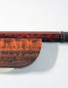 Baroque Cello Bow, Snakewood for sale at Bridgewood and Neitzert London