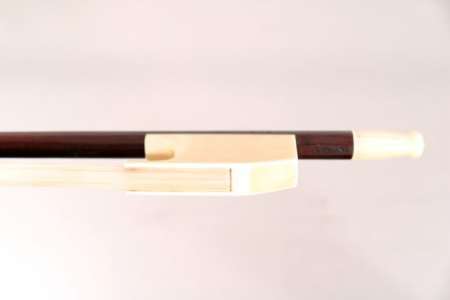 Baroque cello bow by Bultitude for sale at Bridgewood and Neitzert London