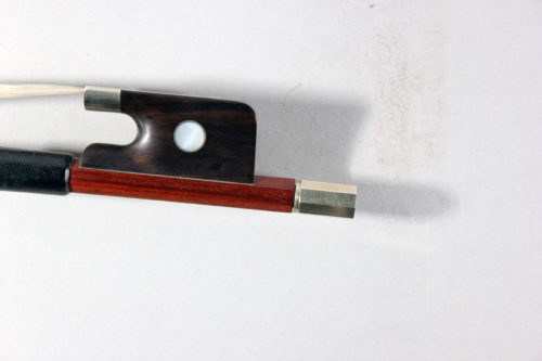 L'archet Brasil 3/4 Cello Bow, stamped 'Luan Ruy' for sale at Bridgewood and Neitzert London