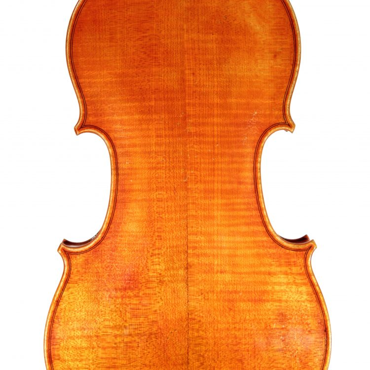 Violin by Susanne Kuester made in Pudlitz 2010 for sale at Bridgewood and Neitzert London