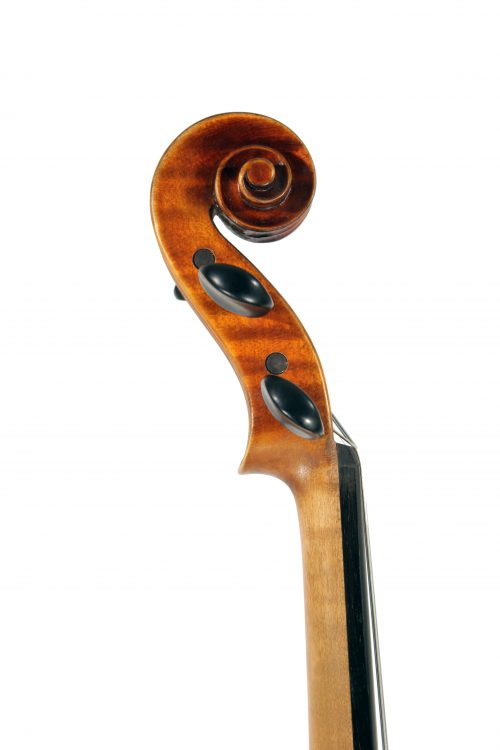 MMX Master A Grade 4/4 violin antiqued varnish for sale at Bridgewood and Neitzert London