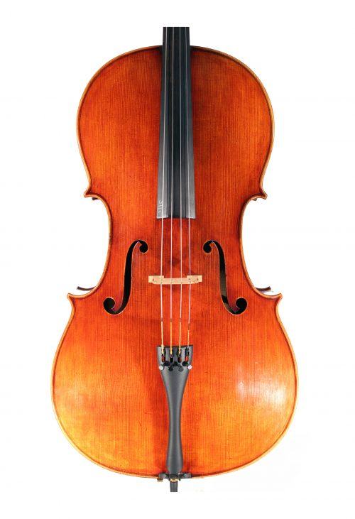 JayHaide antique model cello J B Vuillaume for sale at Bridgewood and Neitzert London