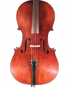 French cello, Mirecourt c.1920 for sale at Bridgewood and Neitzert London