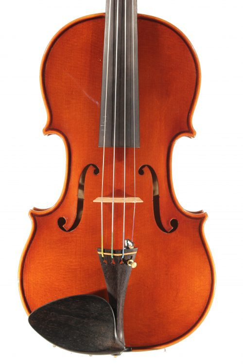 Violin by Federico Falaschi, Perugia 2018 for sale at Bridgewood and Neitzert London