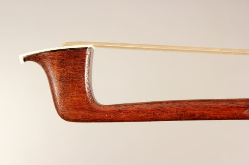 Workshop of Francois Lotte violin bow branded Rene Cune for sale at Bridgewood and Neitzert London