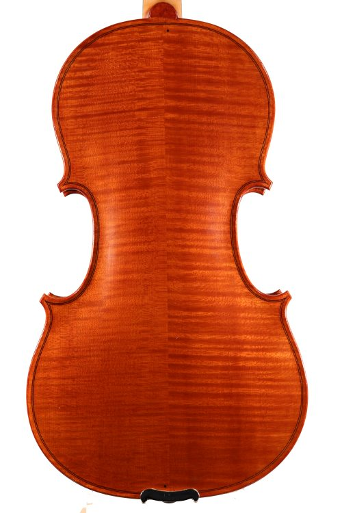 Violin by Steven Ebbinghaus, Newark 2017 for sale at Bridgewood and Neitzert London