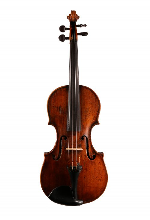 French Violin by Desrousseaux ca 1735 for sale at Bridgewood and Neitzert London
