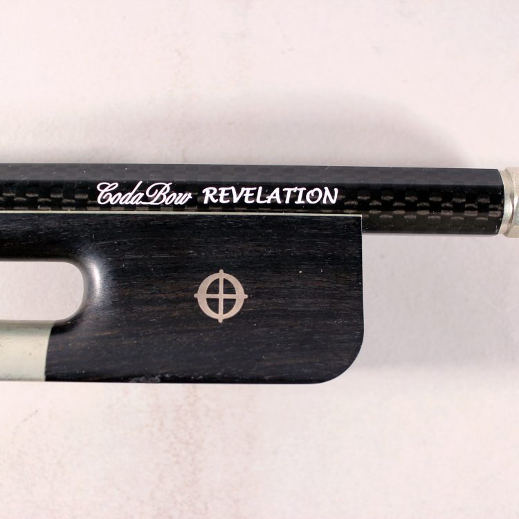Codabow Carbon Revelation French Pattern Bass Bow for sale at Bridgewood and Neitzert London