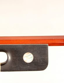Cello bow 4/4 Selected Pernambuco Silver Mounted for sale at Bridgewood and Neitzert London