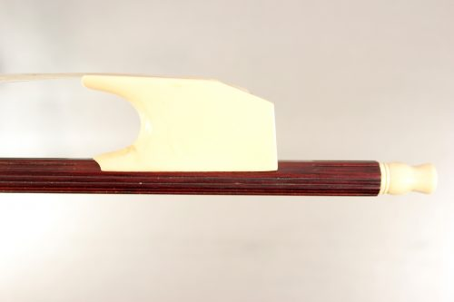 Baroque cello bow by Brian Tunnicliffe for sale at Bridgewood and Neitzert London