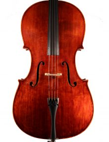 "Hungarian Cello 2018 labelled ""Lutherie D'art Laberte Humbert Freres 1921"" for sale at Bridgewood and Neitzert London"