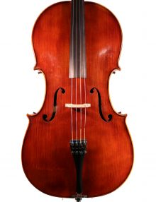 Cello labelled 'Giacinto Bertolazzi', probably German. for sale at Bridgewood And Neitzert London