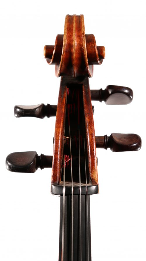 Cello, German Mittenwald c.1880 for sale at Bridgewood and Neitzert London