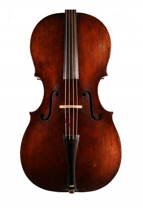 Baroque Cello, Bohemian c.1800 for sale at Bridgewood and Neitzert London