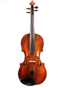 English violin probably by John Johnson, London c.1760 for sale at Bridgewood & Neitzert London