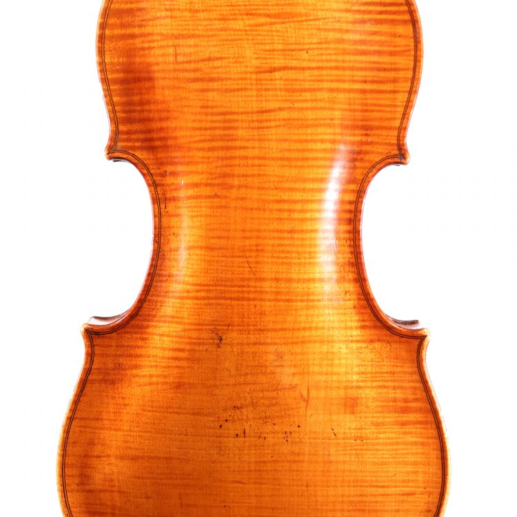 Baroque Violin By Remerus Liessem London 1733 for sale at Bridgewood & Neitzert London